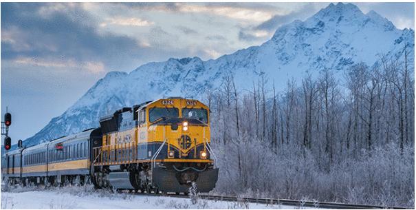 Aurora Winter Train: uma viagem ao coração do Alasca