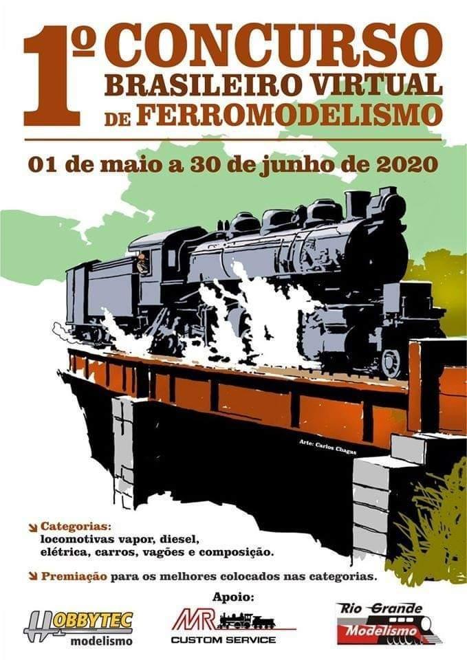 1o. Concurso brasileiro virtual de ferreomodelismo