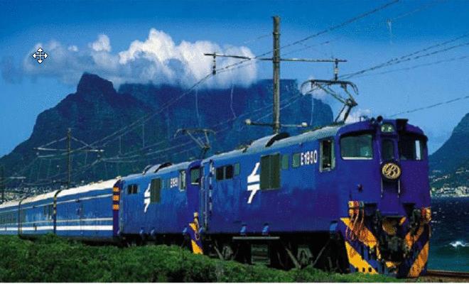 Trem Azul: Do trem de luxo ao safári na África do Sul