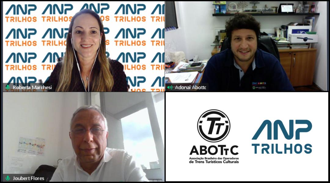 ANPTrilhos e ABOTTC criam relação de proximidade e troca de informações
