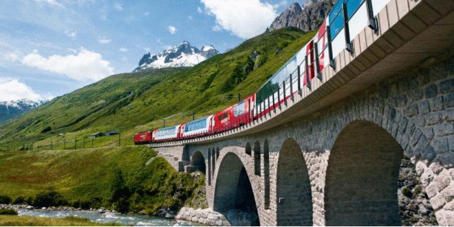 Glacier Express: um espetáculo panorâmico