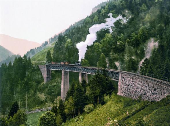 04 rotas de trem incríveis na Alemanha