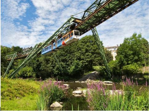 Schwebebahn de Wuppertal: um sistema de trânsito centenário