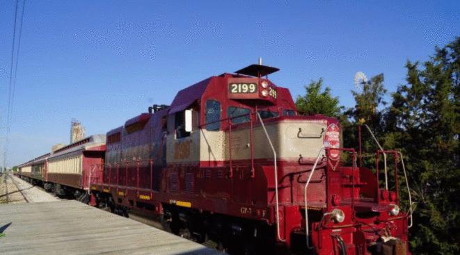 Christmas Wine Train: uma viagem pelo Texas