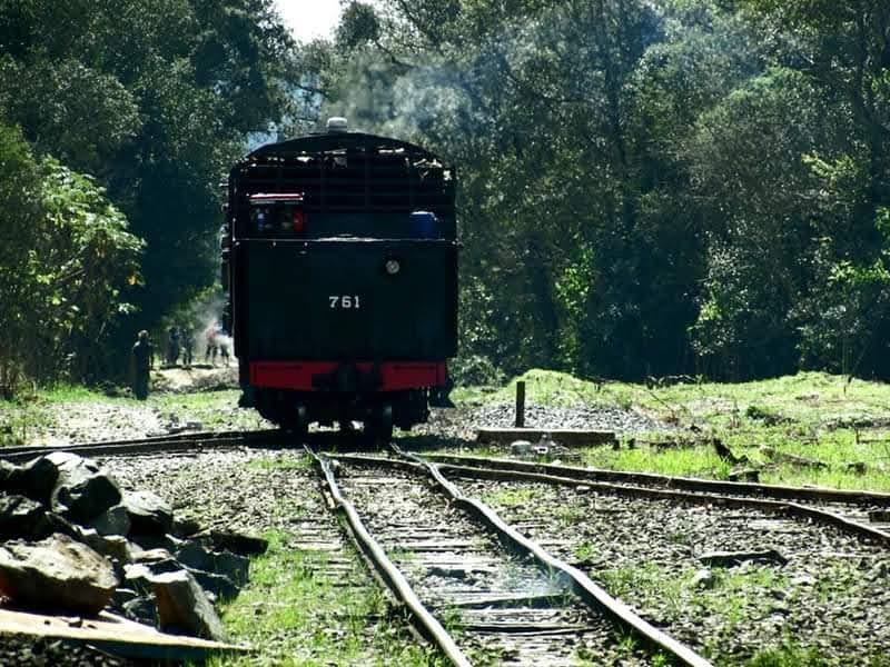 Maria Fumaça Mogiana Trem dos Tropeiros