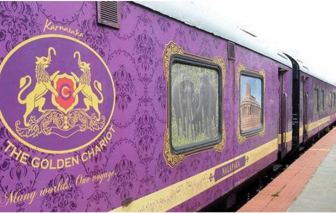 Golden Chariot:  herança, tradição e cultura vibrante do sul da Índia