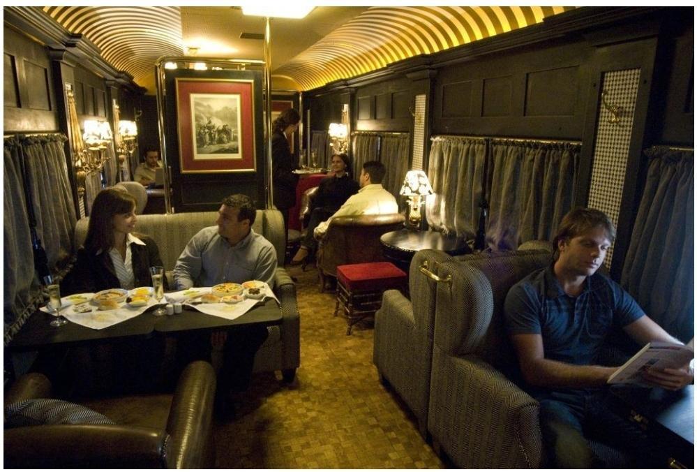 Trem de luxo no Brasil
