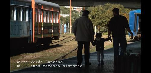 Emocionante ferrovia em família