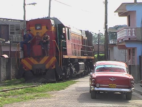 Trem cubano!