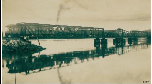 O canal aterrado por alemães em SC na 2a. guerra