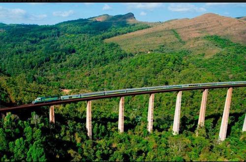 Como funciona o trem Vitória-Minas?