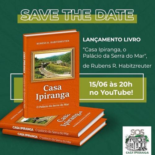 Lançamento livro Casa Ipiranga