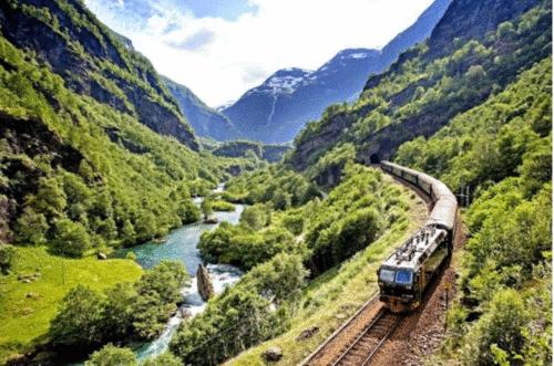 Ferrovias de Bergen e Flamsbana: os mais belos cenários da Noruega
