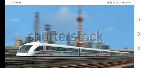 Trem que flutua e com velocidade de até 500km/h no trecho: Campinas-São Paulo - Rio de Janeiro. TAV-MAGLEV