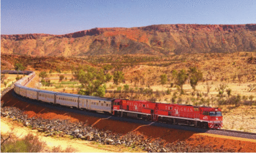 The Ghan: uma lenda viva australiana