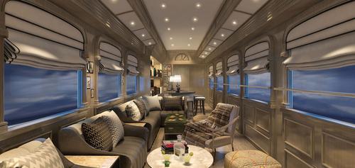 Os 6 trens mais luxuosos do mundo