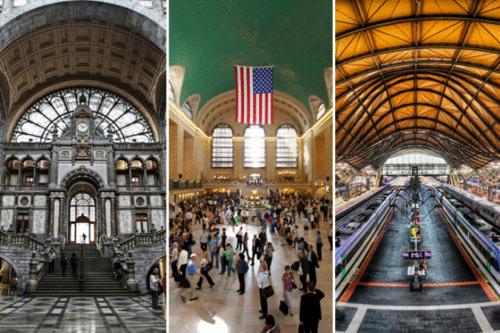 Conheça as 05 estações de trem mais bonitas do mundo